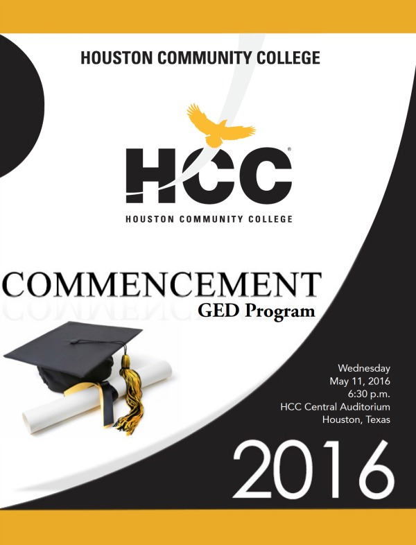 Articles | Hcc Students Design Cover Pages For 2016 Commencement