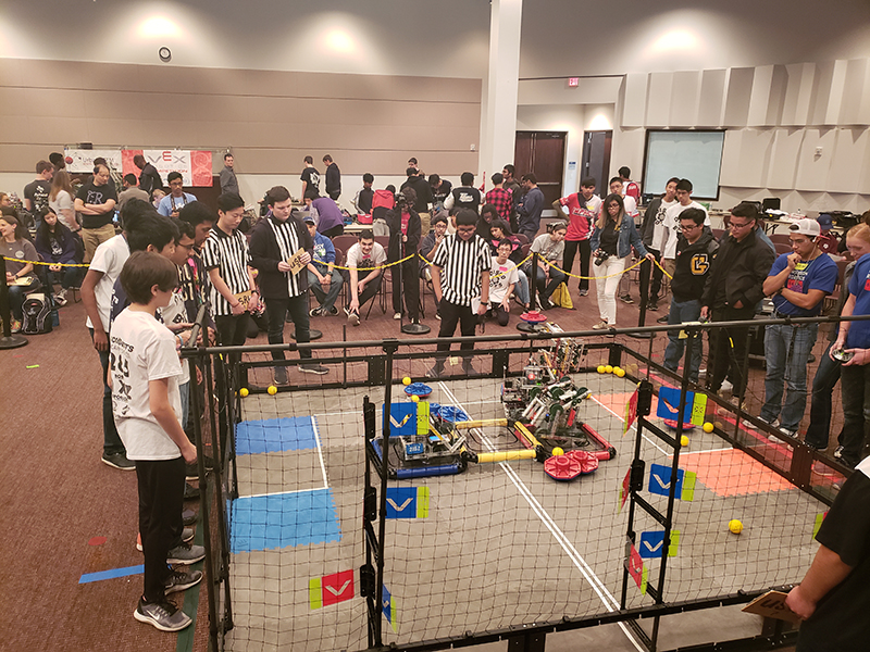Articles West Loop Campus Hosts Vex Robotics Competition Houston
