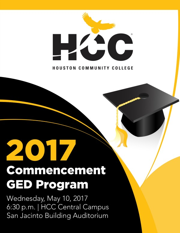 Articles hcc students design cover pages for 2017 commencement ged cover design sciox Choice Image