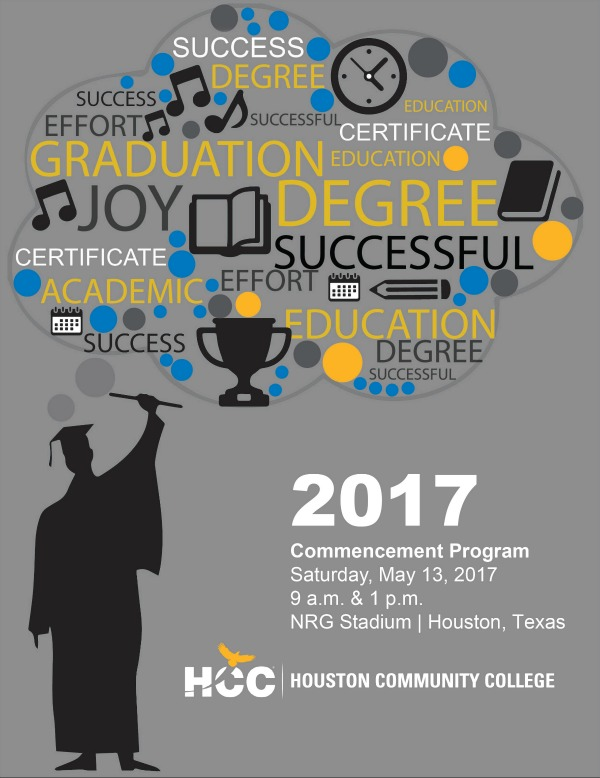 Articles Hcc Students Design Cover Pages For 2017 Commencement