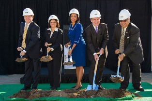 Alief Career Center Groundbreaking