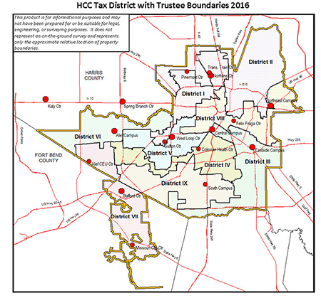 District Maps Houston Community College Hcc