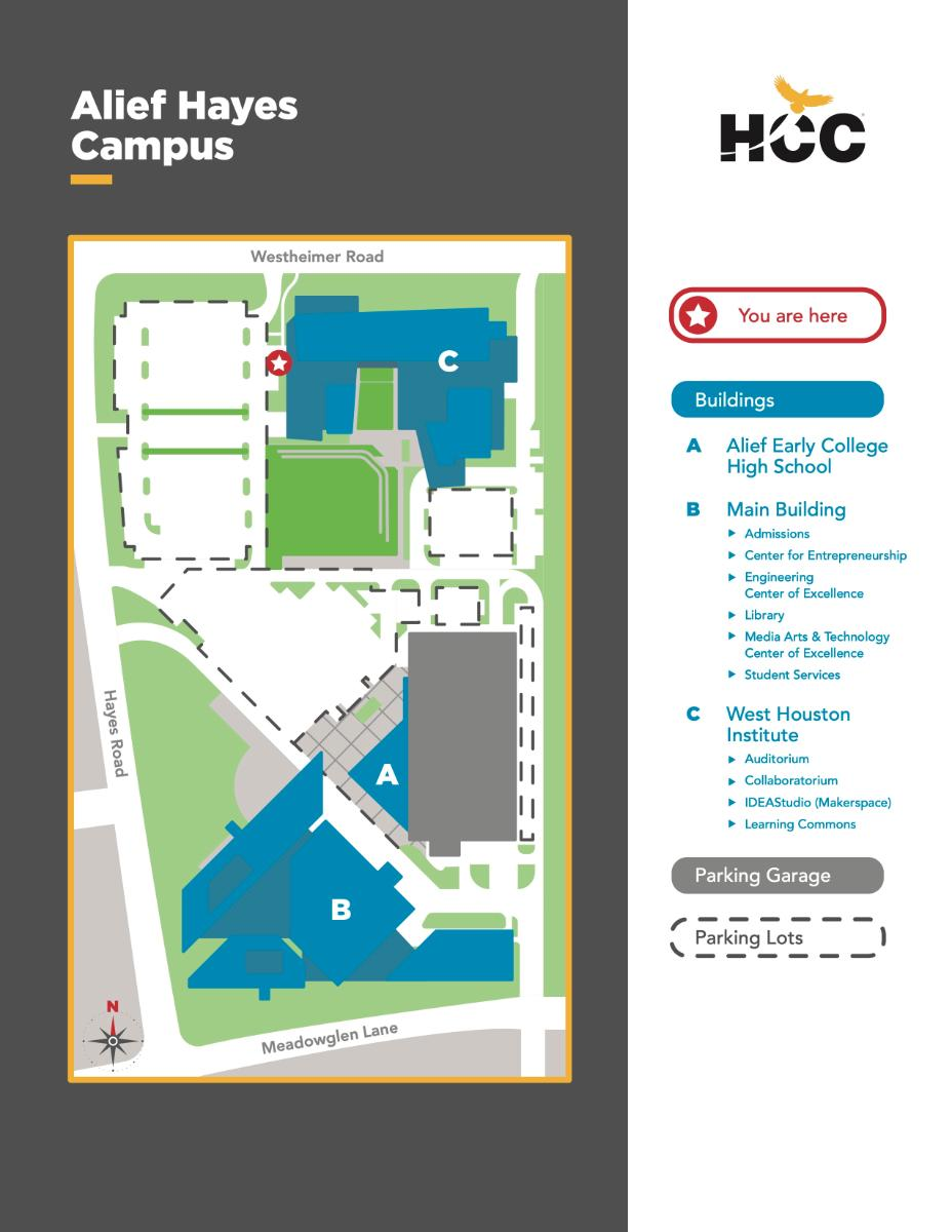 HCC Alief Map
